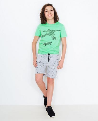 Minzgrünes T-Shirt